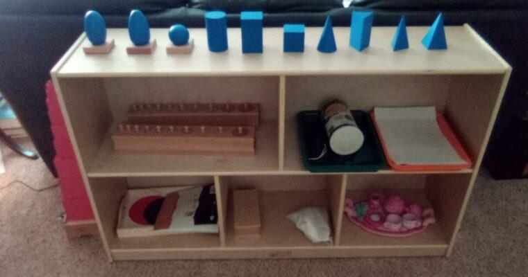 3-6 Materials For Year One In the Montessori Preschool