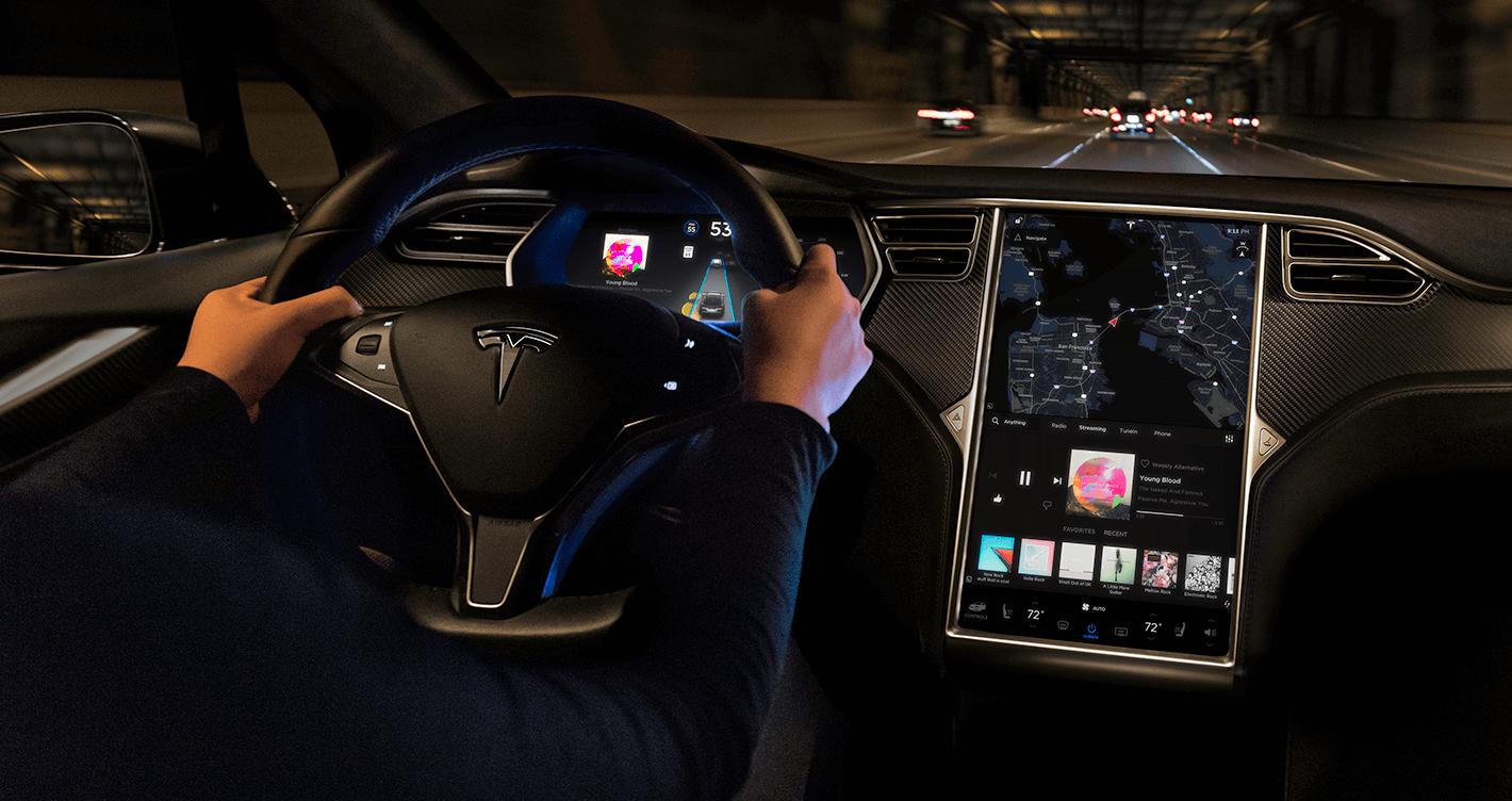 Tesla Model S Interior, My Tesla Adventure