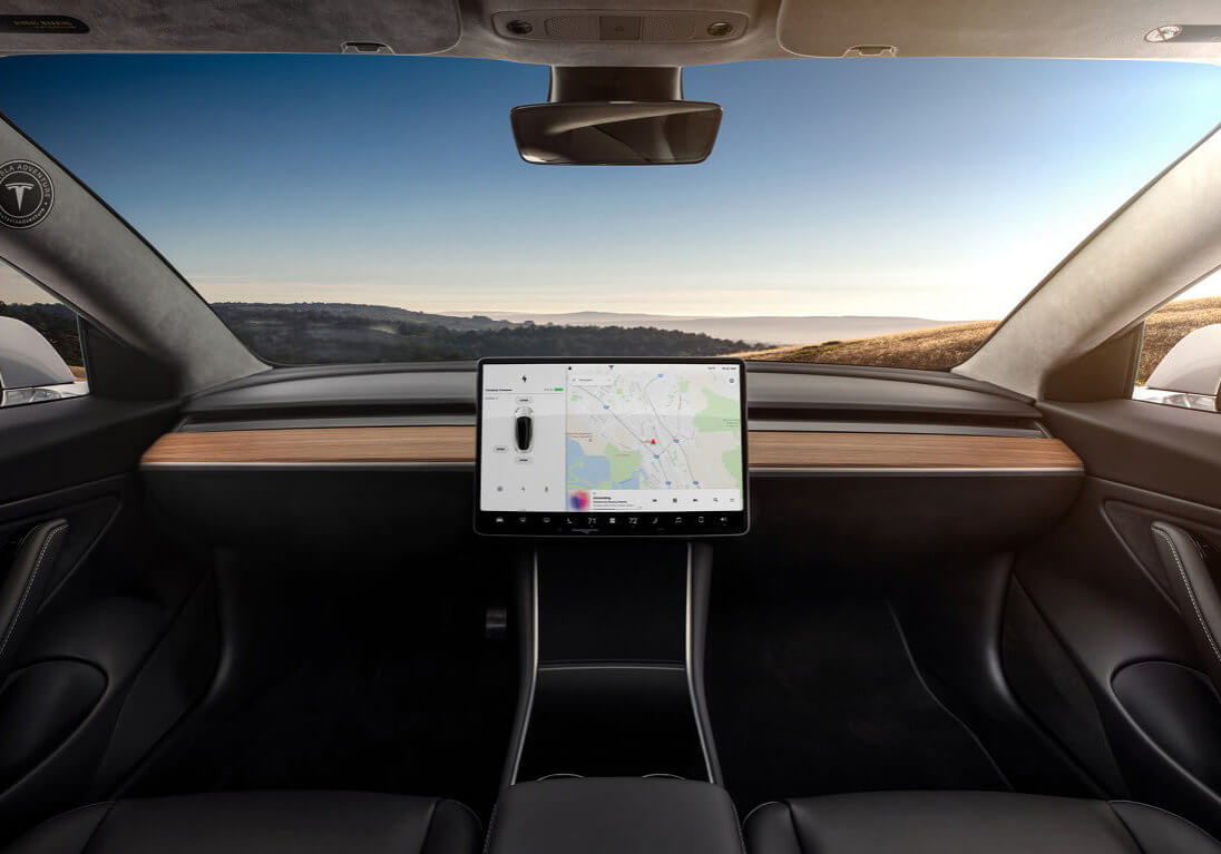 Model 3 Autonomous Self Driving Car