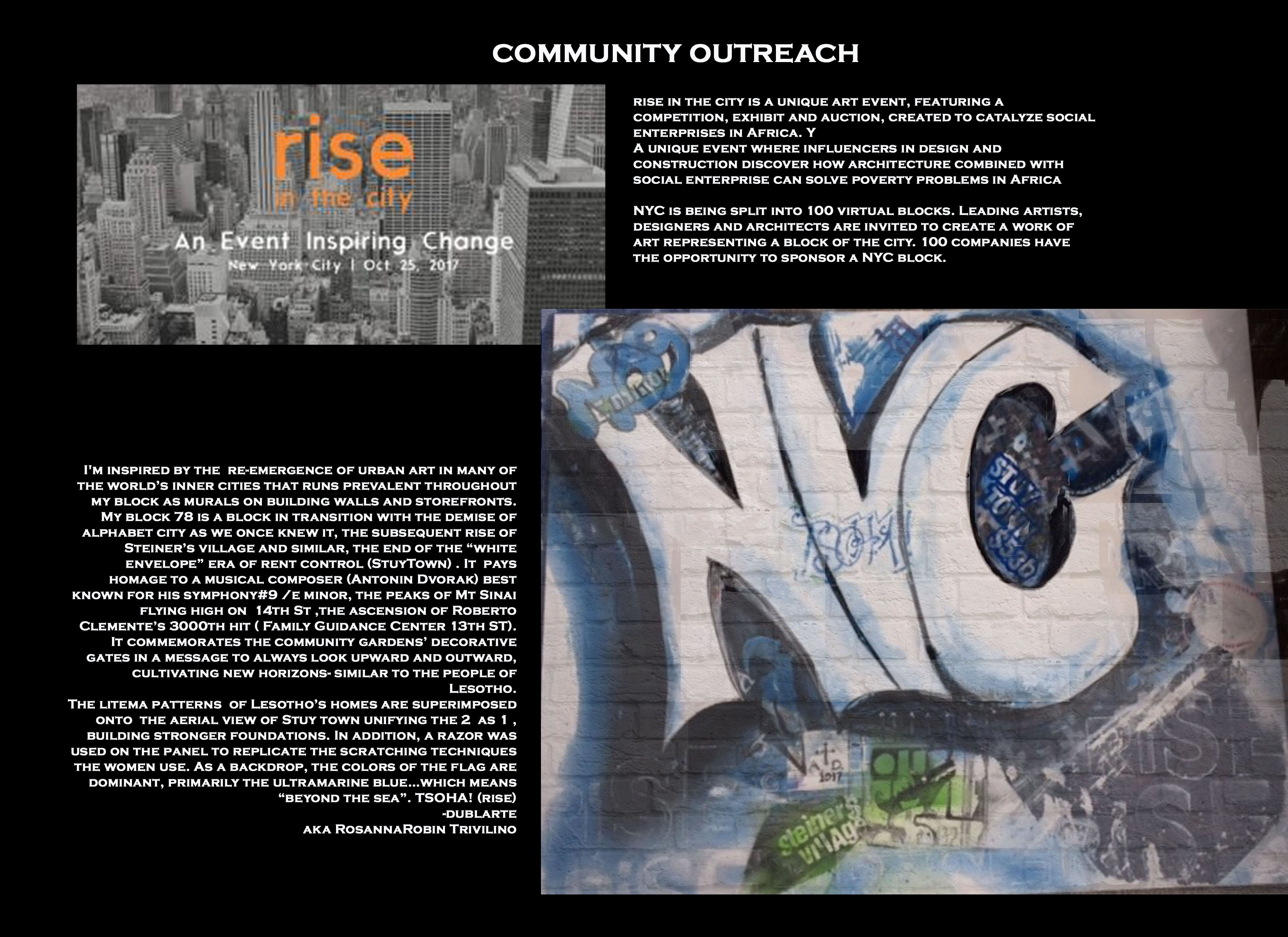 RISEint.org Rise in the CIty October 2017