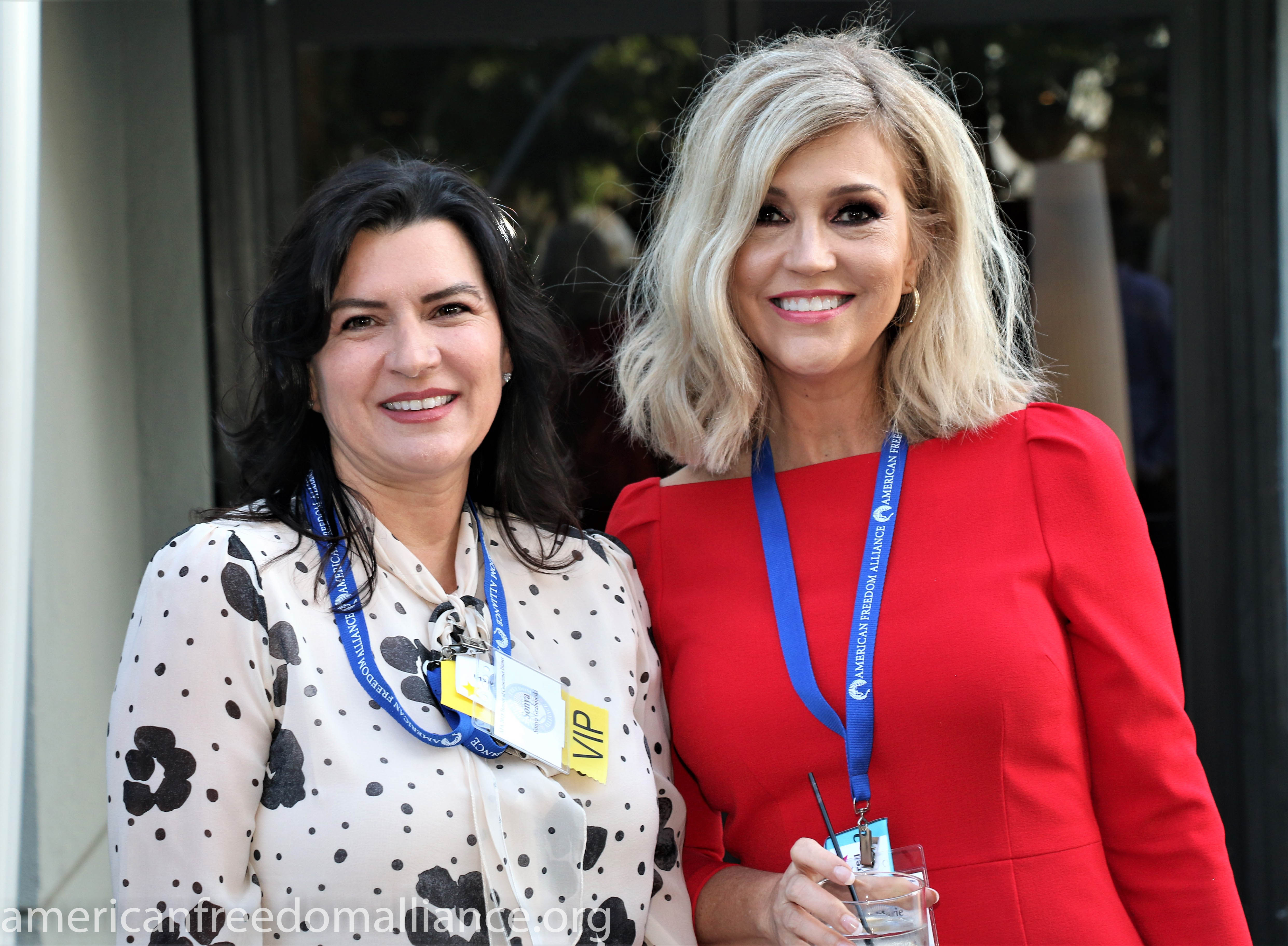 Sonya Grabowski and Ann-Marie Murrell