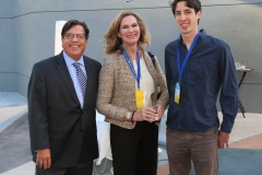 Bill Becker, Catherine Engelbrecht and james Damore