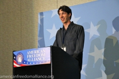 James Damore at the Podium 3