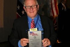 Trevor with American Freedom Award