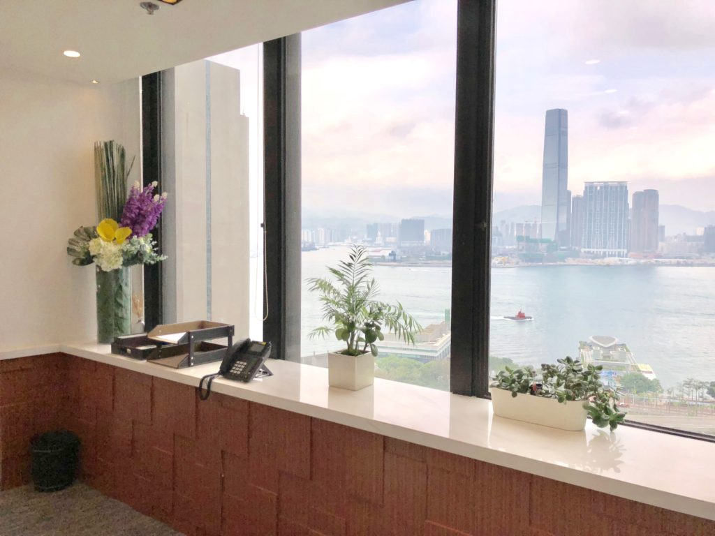 Harbour view with an abundance of natural light
