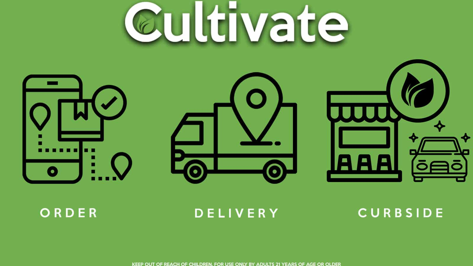 Cultivate Las Vegas Dispensary. How To Use Cultivate's Delivery & Curbside Pick-Up