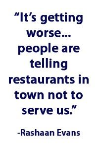 Evans on restaurants