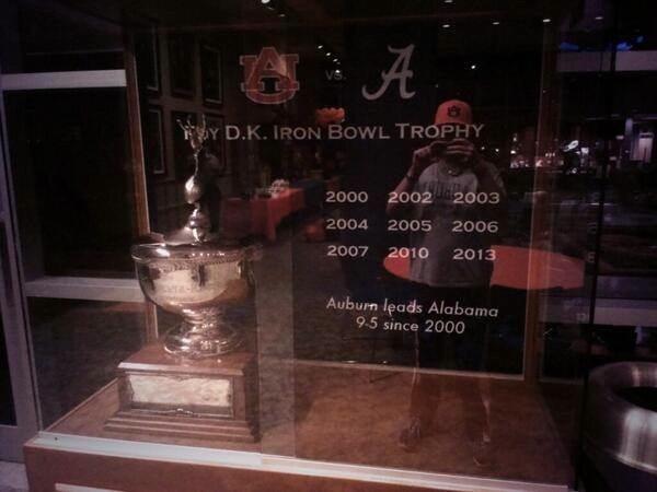 Auburn fan, this is just sad.