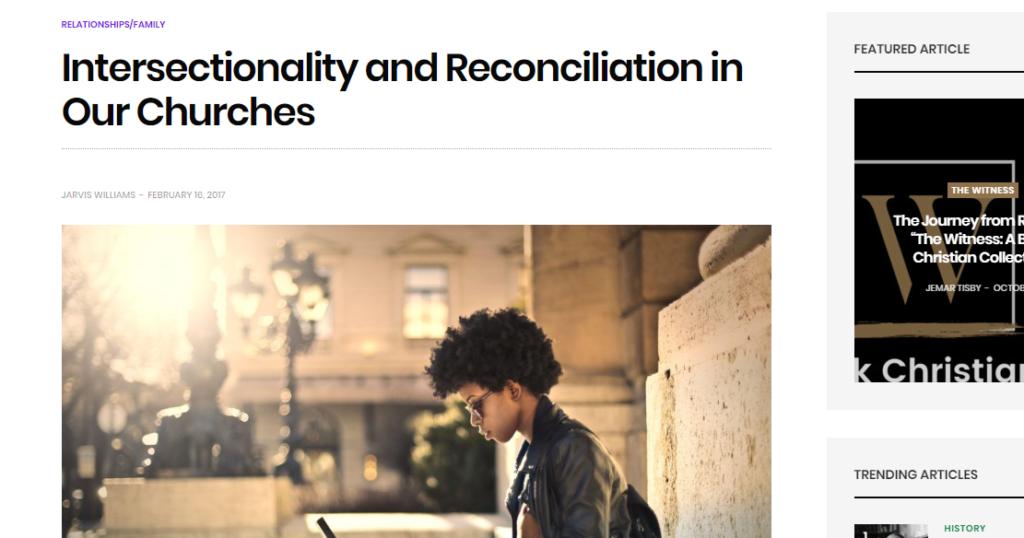 SBTS professor's Intersectionality essay deleted