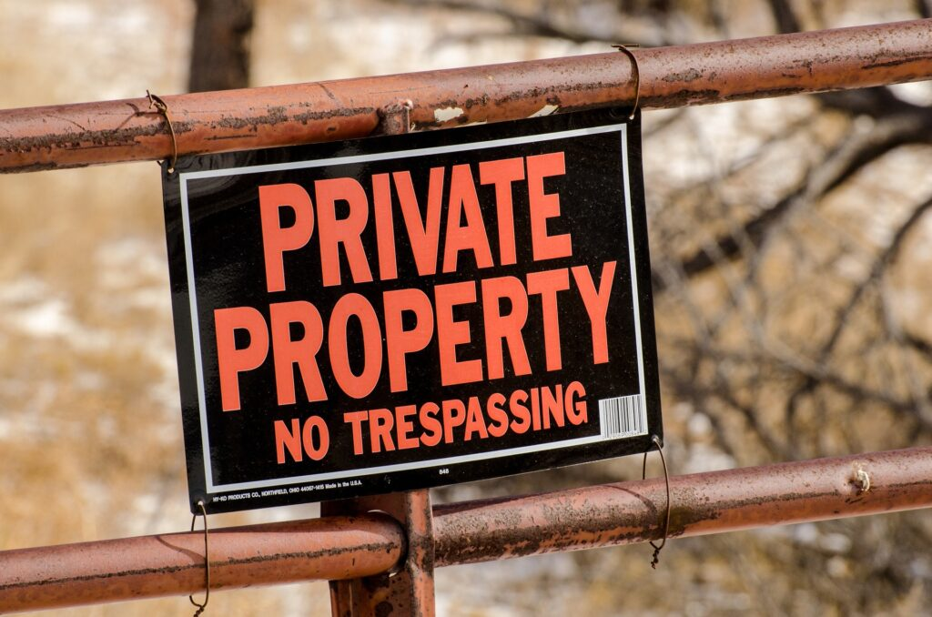 Timothy Keller attacks private property
