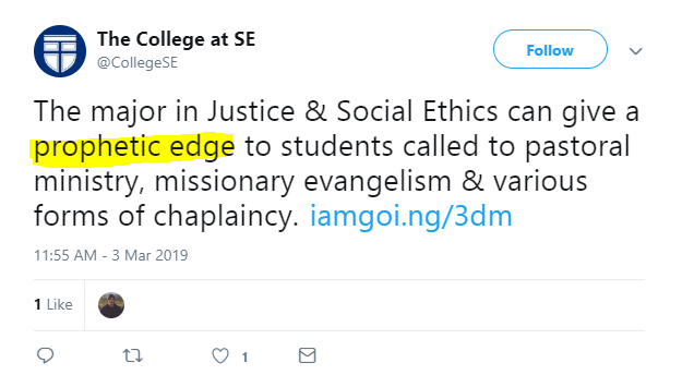 Prophetic Edge and the Wokening of Southern Baptist Seminaries