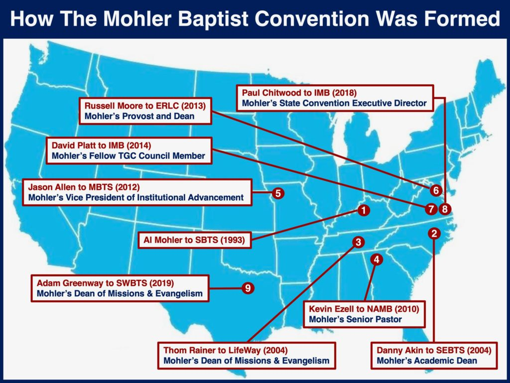 Al Mohler is not the answer to the SBC's problem. Al Mohler is the problem.