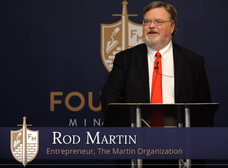 Rod D. Martin rallies conservatives to fight for the Gospel and the Southern Baptist Convention