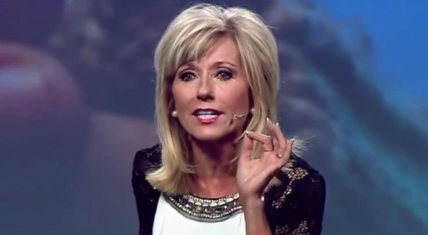 Beth Moore salutes attack on President Donald Trump