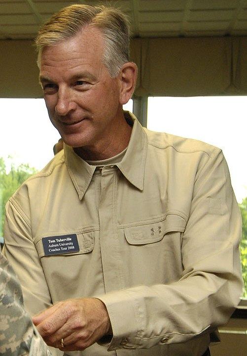 Senate candidate Tommy Tuberville enters the Culture War