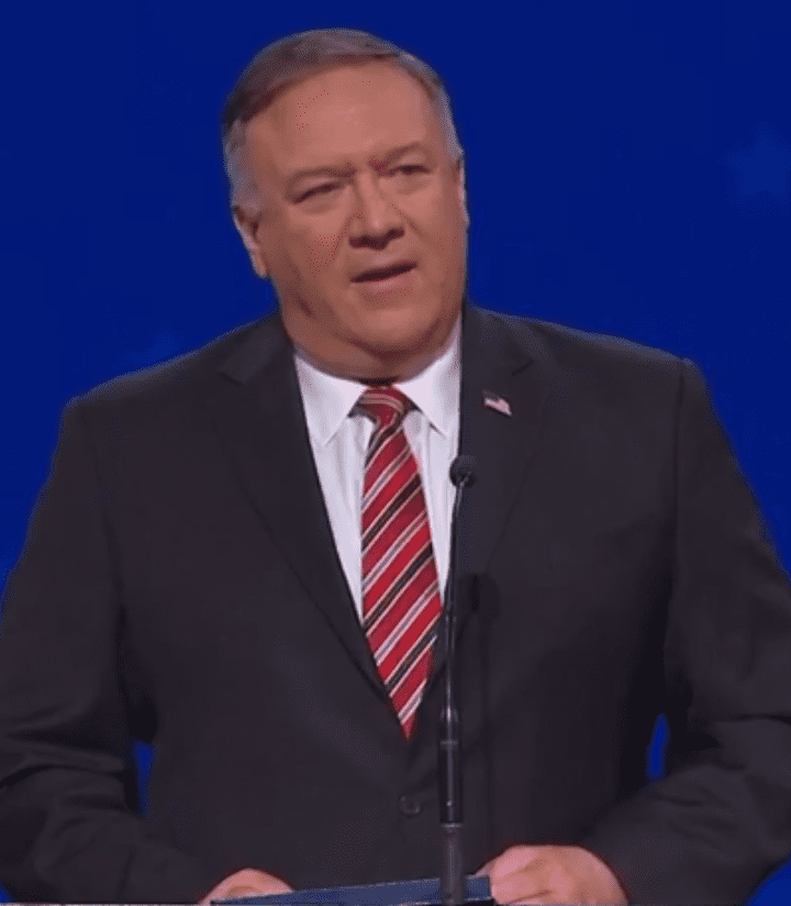 Secretary of State Mike Pompeo visits Prestonwood Baptist Church
