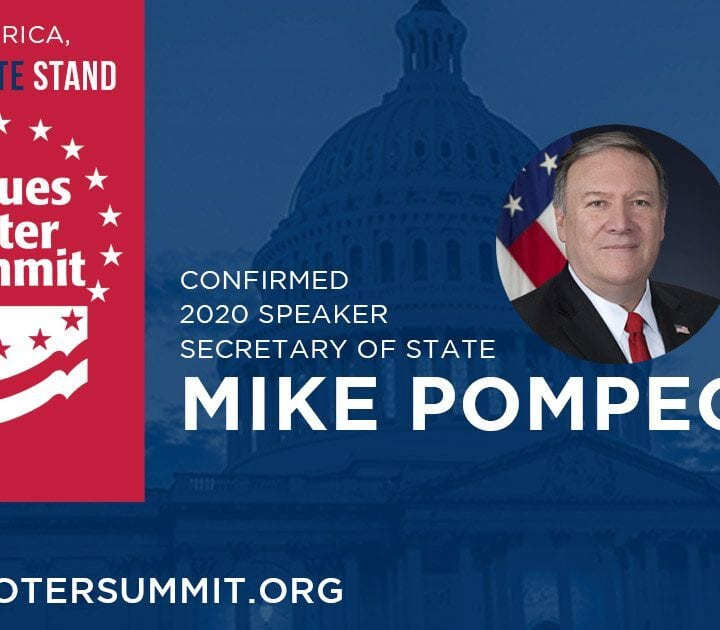 Secretary of State Mike Pompeo talks religious freedom, Trump foreign policy & China