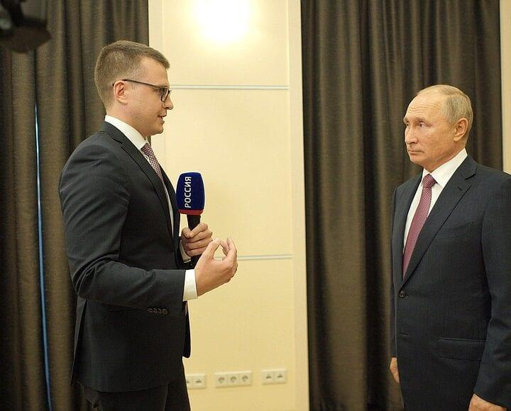 Russian President Vladimir Putin compares Biden, Democrats to Soviets