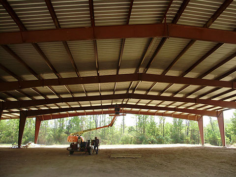 Interior of Riding Arena