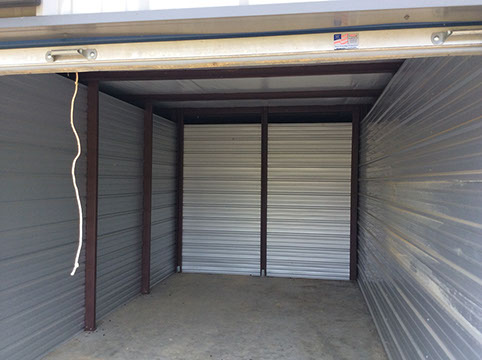 Inside Mini-Storage Unit