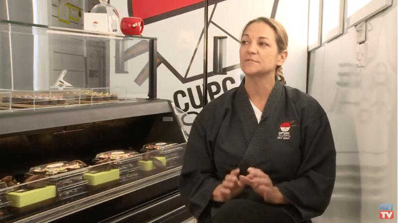 CUPCAKE SUSHI FEATURED ON KEY TV