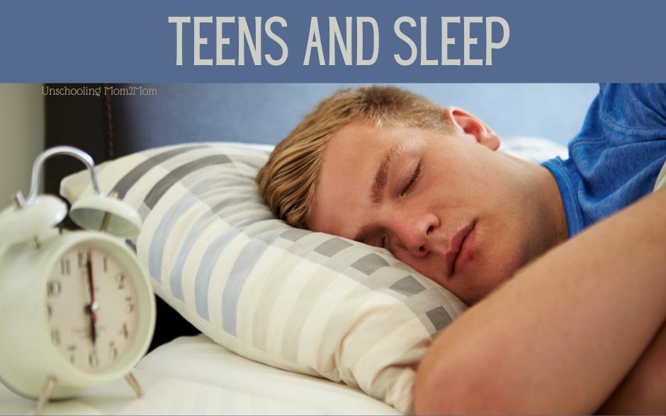 Unschooling Teens & Sleep