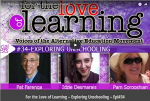 Love of Learning - unschooling