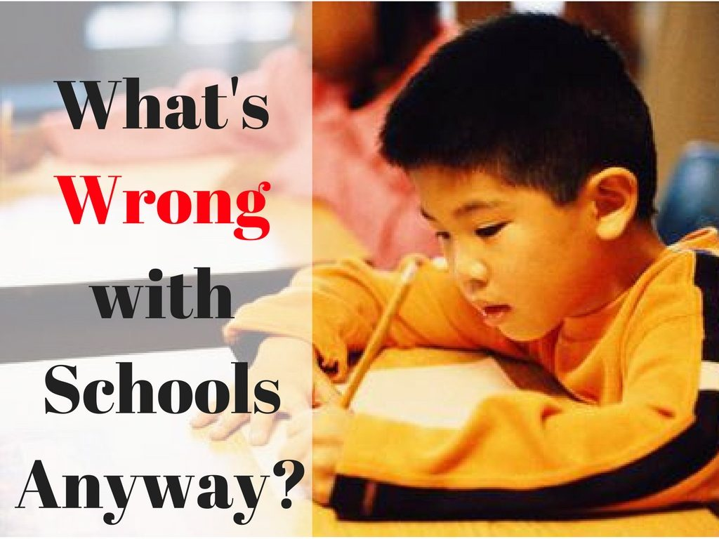 What's Wrong with Schools Anyway-