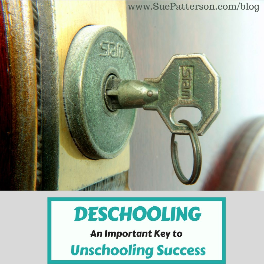 Deschooling - A Key to Successful Unschooling