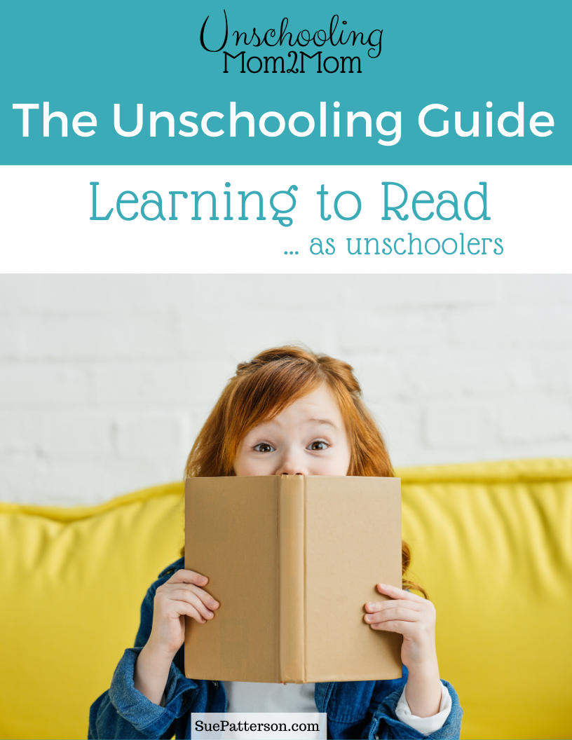 Unschooling Guide - Learning to Read