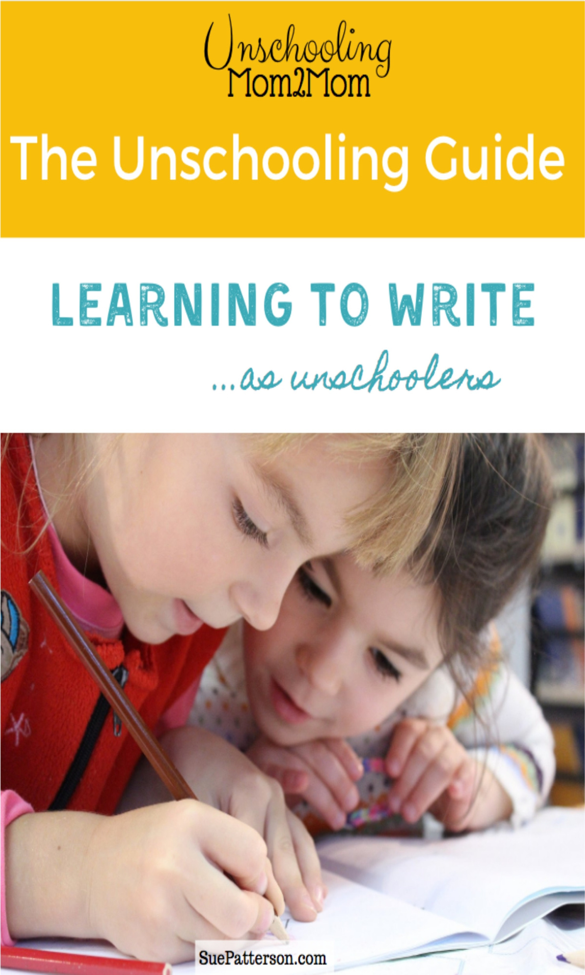 Unschoolers and Writing