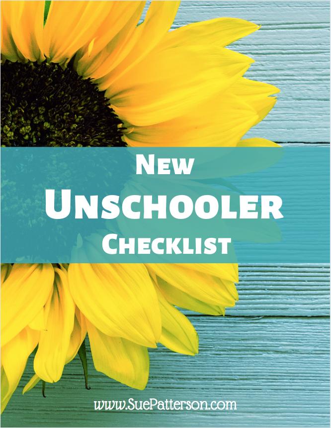 New Unschooler Checklist