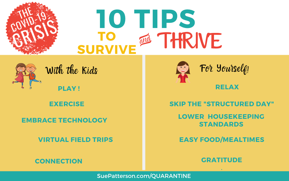 10 Unschooling Tips to Survive a Quarantine!