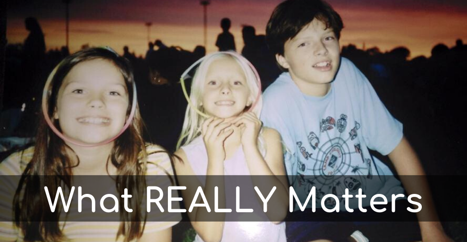 What Really Matters when Unschooling