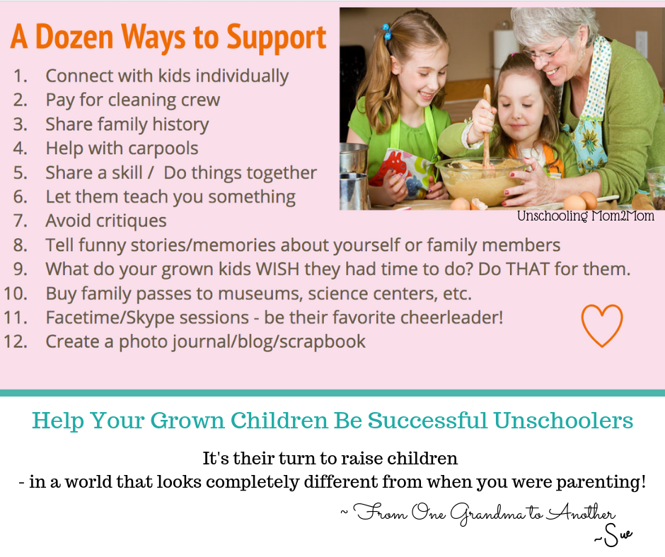 Grandparenting and Unschooling