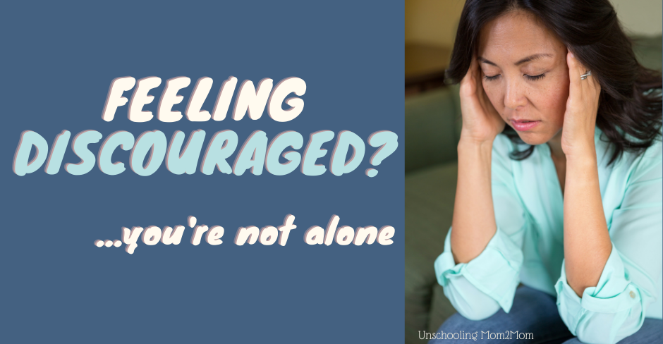 When Moms Feel Discouraged