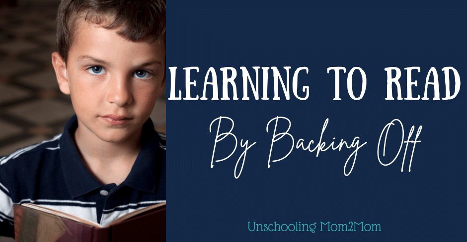 Learning to Read By Backing Off