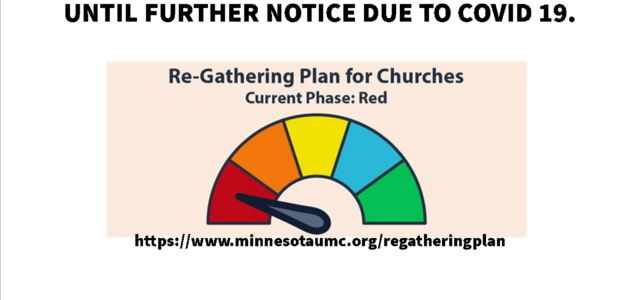 Phase RED – Please stay at home and stay healthy