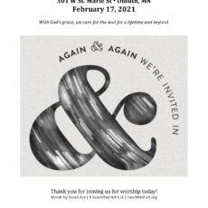 2021 Ash Wednesday Worship Kit
