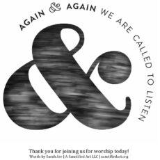 Worship Kit for February 28, 2021