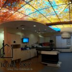 Artificial Sky Ceiling Light Radiology Patient Room