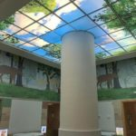 Artificial Sky Lobby Skylight