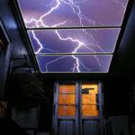 LED lightning hallway