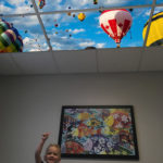 pediatric treatment room led skylight