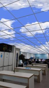 virtual sky circadian lighting
