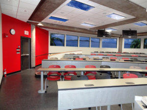 science classroom ideas showing Artificial Sky and faux windows