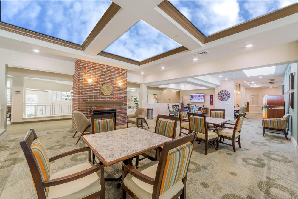 Virtual Skylights in senior living