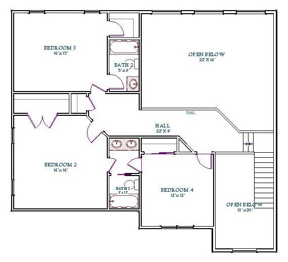 Middleton, Second Floor