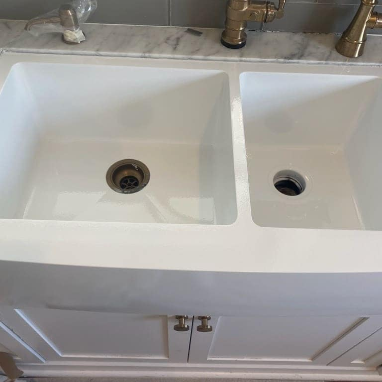 After Sink Refinishing - The Resurfacing Doctor, Inc
