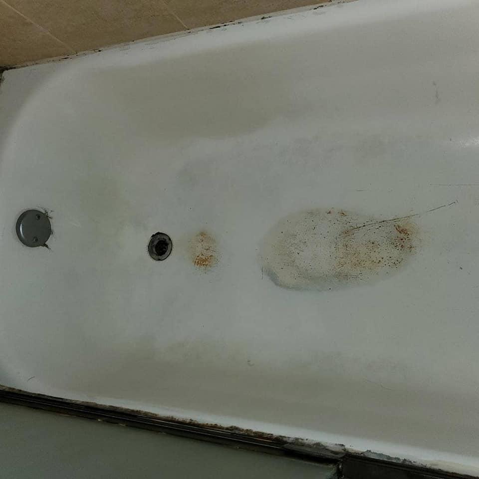 Before Bathtub Resurfacing - Resurfacing Doctor